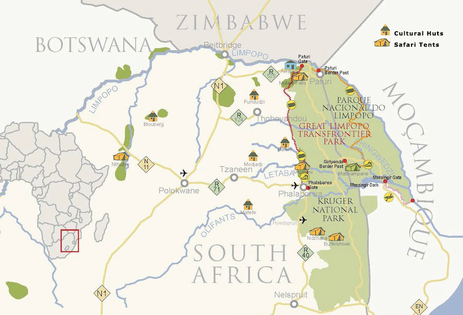 african ivory route map