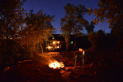mutale falls safari camp