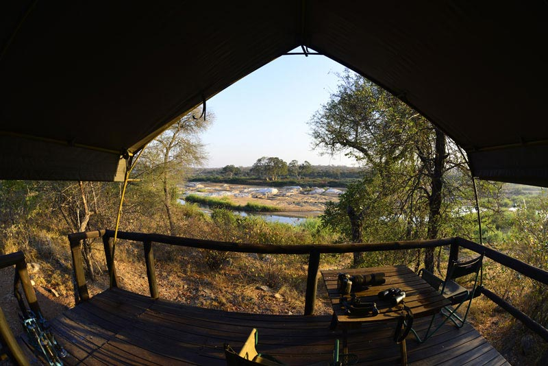 mtomeni camp safari tent